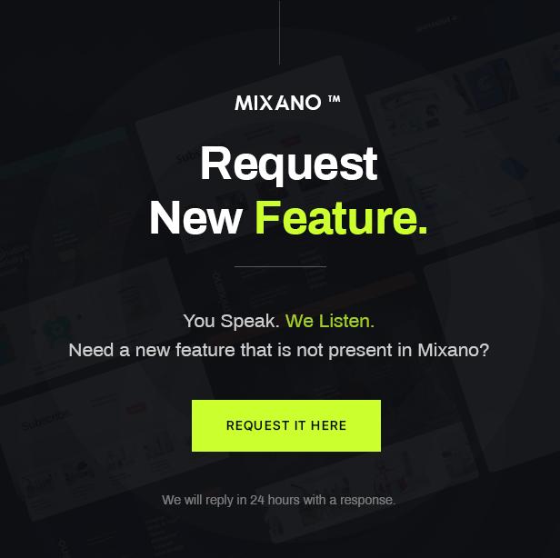 Mixano - Minimal WordPress Theme - 1
