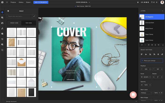 Print-Magazine-Mockup-Screen